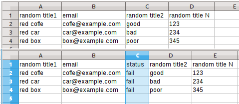examples of file for bulk email verification